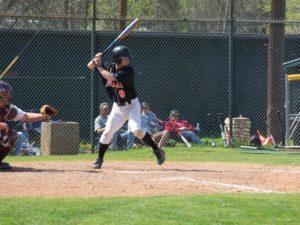 Chris playing baseball in college (circa 2007)
