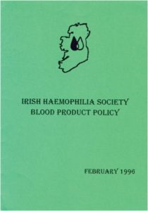 IHS Blood Product Policy (1996)
