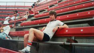 Brian O'Mahony in 1982
