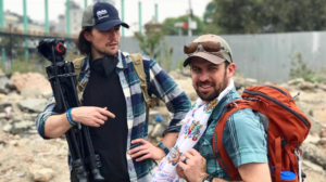 Chris Bombardier with Patrick Lynch in Nepal (March 2017)