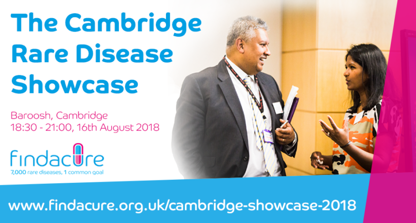 Findacure Cambridge Rare Disease Showcase 2018