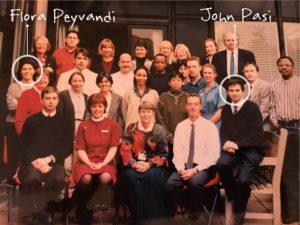 John Pasi at the Royal Free Hospital in 1996.