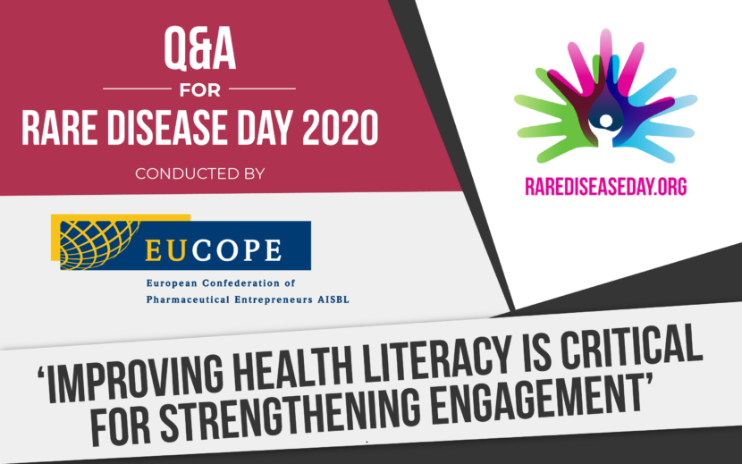 Rare Disease Day 2020 - Q&A by EUCOPE