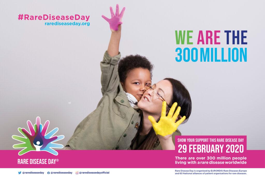 Rare Disease Day 2020 poster
