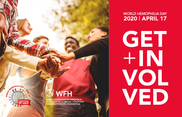 World Haemophilia Day 2020 promotional material