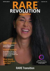 Winter 20/21 edition of Rare Revolution Magazine